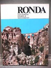 RONDA Situazione Storia e Monumenti Francisco Tornay Roman Comerc 5 Libro Viaggi