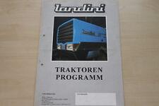 157092) Landini Serie 60 80 Blizzard Trekker gelochtes Prospekt 1995