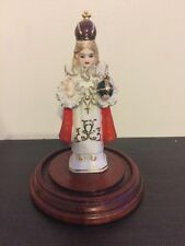 VINTAGE INFANT OF PRAGUE STATUE HAND PAINTED ARDALT FREE US SHIPPING 6144