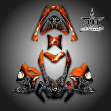 SKI-DOO REV XP SNOWMOBILE SLED GRAPHICS DECAL WRAP STICKER KIT GUARDIAN ORANGE