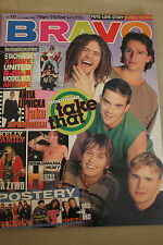 Bravo 10/1995 Take That, Brad Pitt,Kelly Family,H-Blockx,Roxette,