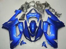 Blue Fairing Bodywork ABS Injection For Kawasaki Ninja ZX6R 2007 2008 636/07 08