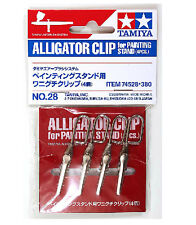 Tamiya 74528 ALLIGATOR CLIP 4pcs f/ Painting Stand 74522-74064-74077 from Japan