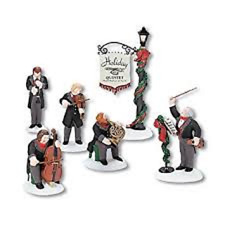 Department 56 Dickens' Village HOLIDAY QUINTET 6pc Lighted Figurines #58520