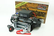 Tuff Stuff 10,000 lbs Electric Winch- Econo Series 12V Trailer Recovery & 4X4