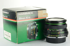 X221 - Hanimex 28mm f/2.8 MC Minolta MD wideangle Manual Focus Lens -Acceptable