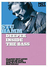 STU HAMM - DEEPER INSIDE THE BASS GUITAR NEW DVD
