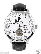 NEW Men's Disney Elgin Mickey Mouse Automatic Large Watch HTF
