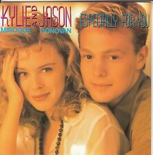 "KYLIE MINOGUE & JASON DONOVAN  Especially For You  PICTURE SLEEVE 7"" 45 rpm NEW"