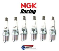 Set 6x Colder NGK V-Power Racing Spark Plugs HR7 For Toyota JZA80 Supra 2JZ-GTE