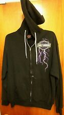 HARLEY-DAVIDSON motorcycle hoodie XL biker Toledo hooded sweatshirt Ohio 1994