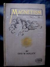 1894 MAGNETISM Celestial Geography PHOTOGRAPHS 1st Ed ENERGY Time PSYCHIC Earth