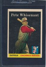 1958 Topps #466 Pete Whisenant Reds EX 58T466-82515-3