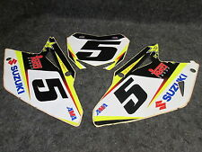 Suzuki RMZ450 08-16 Ryan Dungey Fabbrica come ufficiale numero 5 backgrounds