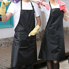 Practical Adult Waterproof PVC Artist Craft Painting Cooking Apron Smock