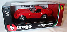 Ferrari 250 GTO  Red 1-24 Scale burago Model New in box
