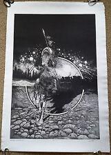 """Robert AUTH """"Nez Perce War Memorial"""" 1977 Aquatint Signed Limited Edition"""