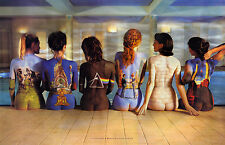 PINK FLOYD Women Body Art on Back- EXTRA LARGE PRINT 80cm x 50cm canvas