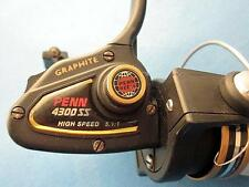 Penn 4300 SS Ultra Lite Spinning Reel - EXCELLENT Condition - MADE IN USA !