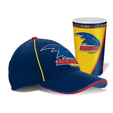 Fremantle Dockers Freo AFL Hat Cap & Tumbler Drinking Cup Birthday Fathers Gift