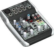 Behringer XENYX Q502USB 5-Input 2-Bus Mixer XENYX Mic Preamp, EQ, Compressor