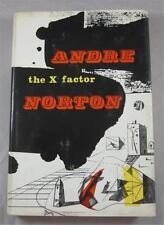 X FACTOR ANDRE NORTON 1965 HARCOURT BRACE HARDCOVER 1ST ED DJ