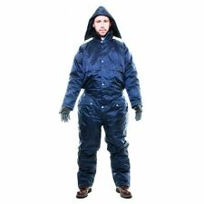 Padded Overall Winter Lined Padded Coverall Rainsuit Navy xxl
