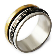 Special Men's Gold Filled/ Stainless Steel Band Promise Love Band Ring Size 11
