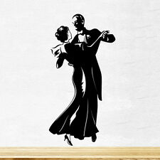 Dancing Couple Wall Sticker Vinyl Decal Art Mural Graphics Kitchen Love Decor