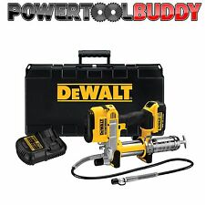Dewalt DCGG571M1 18V XR Cordless Li-Ion Grease Gun (Includes 1 x 4Ah Battery)