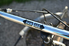 FUNNY GEE HAW VINYL RIG HANDLE BAR STICKER SLED DOG SCOOTER MUSH SIBERIAN HUSKY