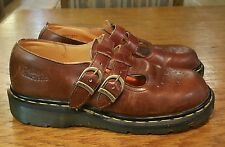 Dr. Martens Mary Janes in Brown - Size UK 4, US 6 - Made In England