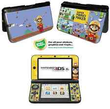 Super Mario Maker Vinyl Skin Sticker for Nintendo 3DS XL