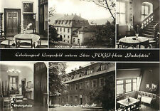 Lengenfeld unterm Stein, FDGB-Heim Bischofstein, DDR-Ansichtskarte von 1974