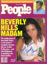 HEIDI FLEISS Signed Autographed People Magazine Hollywood Madam