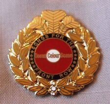 Ocean Colour Scene 'SFTFR' enamel badge. OCS,Oasis,Paul Weller,Pretty Green,Mod.