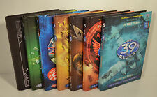 The 39 Clues 7 Book Lot (Black Circle)(In Too Deep)(Shatterproof)(Beyond Grave)