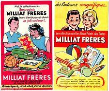LOT 2 BONS POINTS/BUVARD PUBLICITAIRE - MILLIAT FRERES