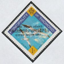 Ireland - Thomond (909) 1967 Gypsy Moth opt DOUBLED, one INVERTED on 1s u/m