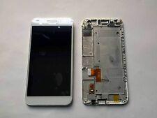 Full LCD Display + Touch Screen digitizer  Huawei Ascend G7 white+frame