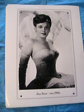 LENA HORNE~singer-actress~sexy 1940 B&W 8 x 10 GLOSSY PHOTO~frame~gift~scrapbook