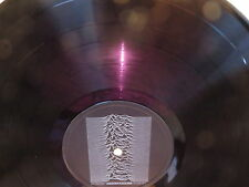 JOY DIVISION Unknown Pleasures FACTORY LP RARE RUBY RED ORIGINAL UK 1ST PRESSING
