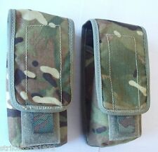 NEW - Genuine MoD Issue MTP Multicam Double Magazine Ammo Pouch x Set of TWO