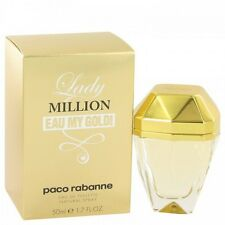 LADY MILLION EAU MY GOLD by Paco Rabanne 1.7 oz / 50 ml EDT SPRAY Women NIB SEAL