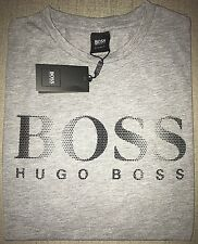 Hugo Boss t-shirt Top size XXL Men's BNWT Grey *black label* Regular Fit