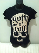69 EYES T-SHIRT Goth 'N' Roll Tour NEW OFFICIAL MERCHANDISE SIZE Fitted Medium