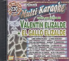 Valentin Elizalde El Gallo De Oro Multi Karaoke New Sealed