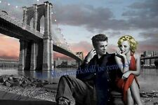 Marilyn Monroe and James Dean 1950's Celebrity, 8X10 GLOSSY PHOTO IMAGE  M69