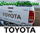 BLACK Toyota Hilux Tailgate Decal Sticker 2004-2010  10 year vinyl 4x4 4WD SR5