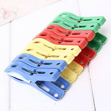Set of 8 Beach Towel Clips in Fun Bright Colors Prevents Towels Blowing Away Lot